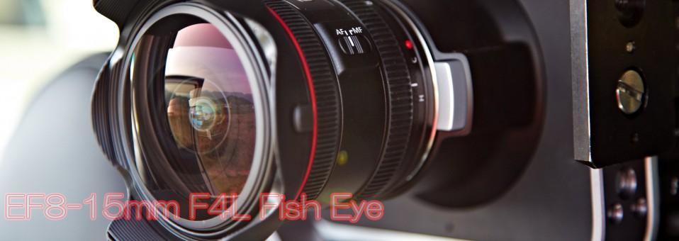 EF8-15mm F4L Fish Eye!